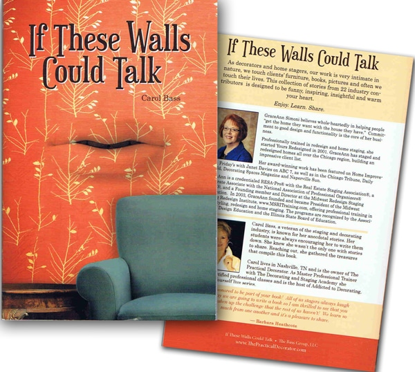 GRACEANN'S NEW BOOK: IF THESE WALLS COULD TALK